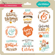 Fall Phrase Bundle