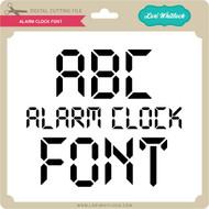 Alarm Clock Font