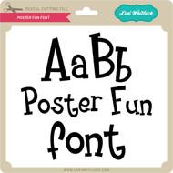Poster Fun Font