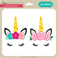 Unicorn Face Bundle 2