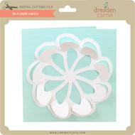 3D Flower Card 8