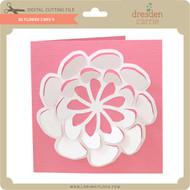 3D Flower Card 9