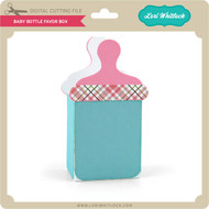 Baby Bottle Favor Box