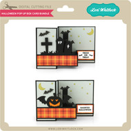 Halloween Pop Up Box Card Bundle