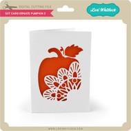 5x7 Card Ornate Pumpkin 3