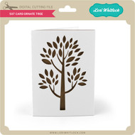 5x7 Card Ornate Tree