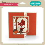 Shutter Card Fox