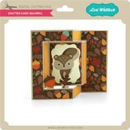 Shutter Card Squirrel