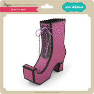3D Witch Boot
