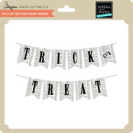 Trick or Treat Dictionary Banner