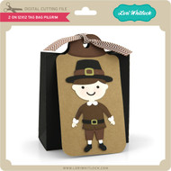 2 on 12x12 Tag Bag Pilgrim