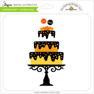 Pumpkin Party - Layered Cake