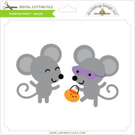 Pumpkin Party - Mouse