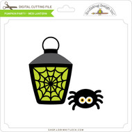 Pumpkin Party - Web Lantern