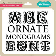 Ornate Monograms Font