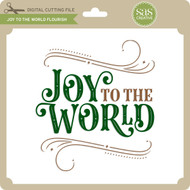 Joy to the World Flourish