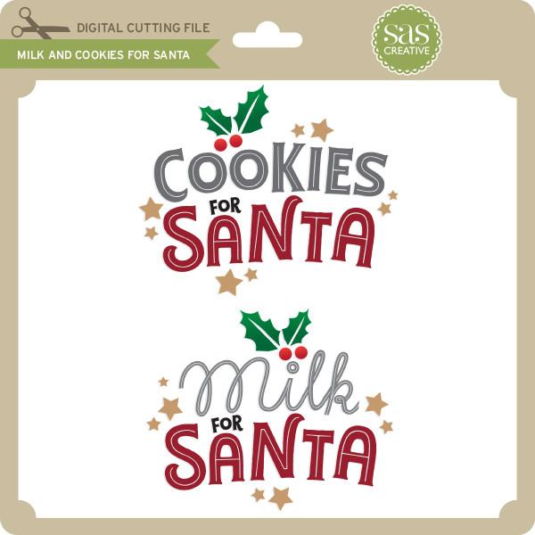 40+ Cookies For Santa Svg Design