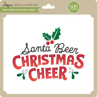 Santa Beer Christmas Cheer