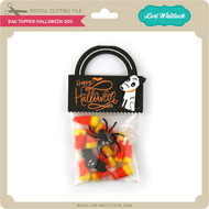 Bag Topper Halloween Dog