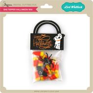 Bag Topper Halloween Dog