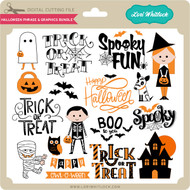 Halloween Phrase & Graphics Bundle
