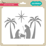 Nativity Palm Trees