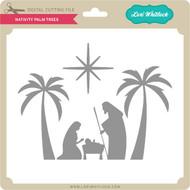 Nativity Palm Trees