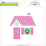 Christmas Town - Pink House