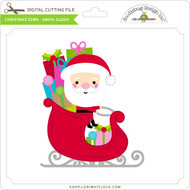 Christmas Town - Santa Sleigh
