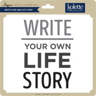 Write Your Own Life Story