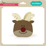 Reindeer Shaped Card 2