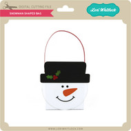 Snowman Shaped Bag