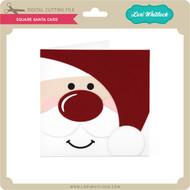 Square Santa Card