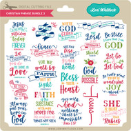 Christian Phrase Bundle 3
