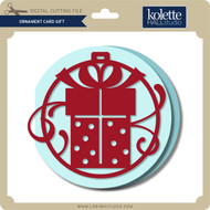 Ornament Card Gift