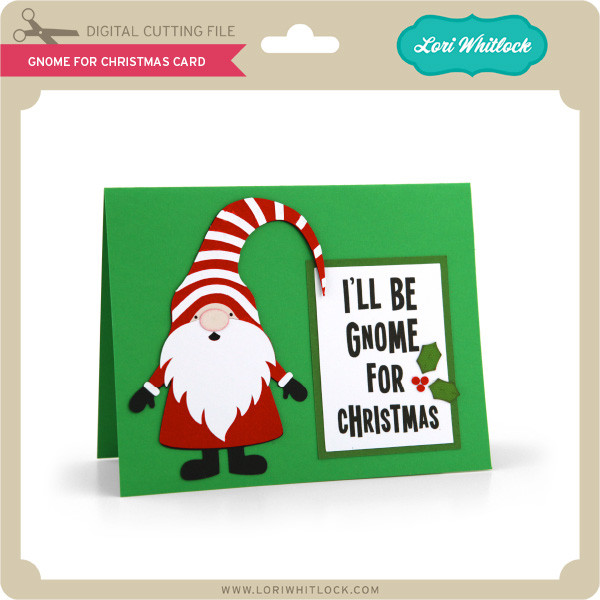 Christmas Gnomes Svg.Gnome For Christmas Card