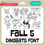 Fall 5 Dingbats Font