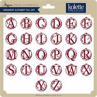 Ornament Alphabet Full Set