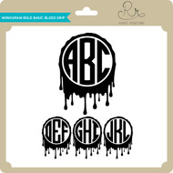 Monogram Bold Basic Blood Drip