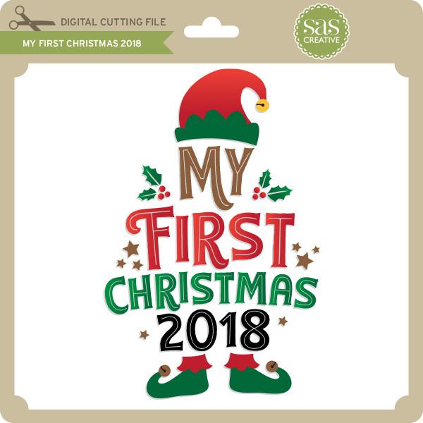 68dccbca150b8 My First Christmas 2018 - Lori Whitlock's SVG Shop