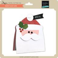 Santa Place Card