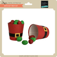 Santa Suit Treat Cup