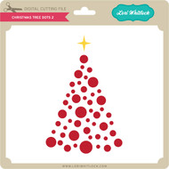 Christmas Tree Dots 2