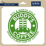 Label Buddy's Coffee