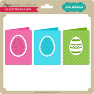 A2 Easter Egg Cards