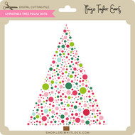 Christmas Tree Polka Dots