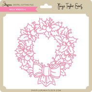 Holly Wreath 4