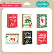 3x4 Christmas Block Bundle