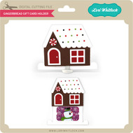 Gingerbread Gift Card Holder