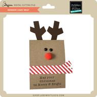 Reindeer Candy Wrap